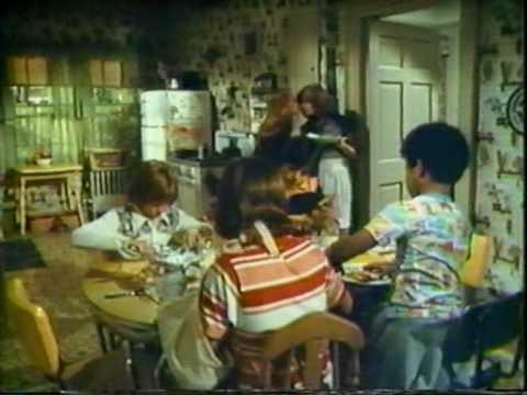"""The Fitzpatricks"" 1977 TV show intro (Helen Hunt, James Vincent McNichol, Clark Brandon)"