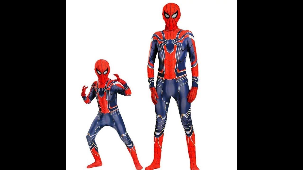 quần áo siêu nhân nhện người lớn | Hà Mi Hóa Trang 0937204744 Zalo
