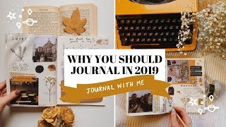 JOURNAL IN 2019 💡💭   journal with me
