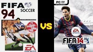 FIFA 94 vs FIFA 14 HD