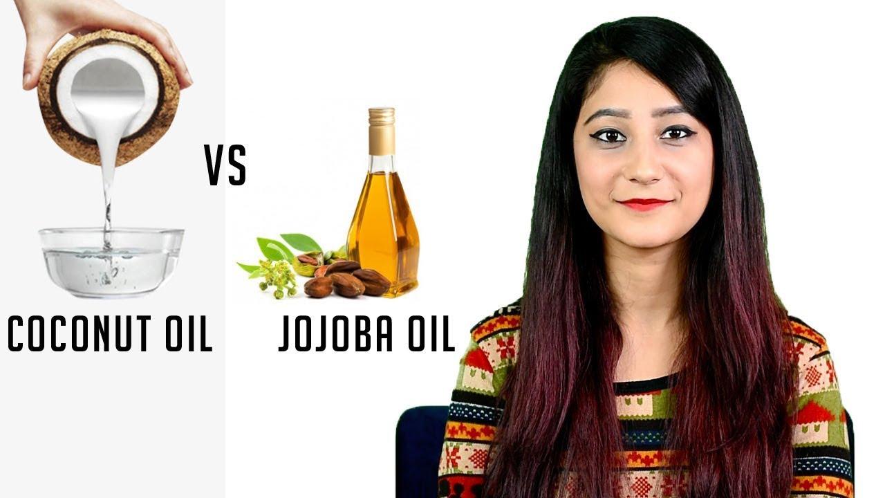 Coconut Oil vs Jojoba Oil - Benefits & Differences! - हिंदी में - YouTube