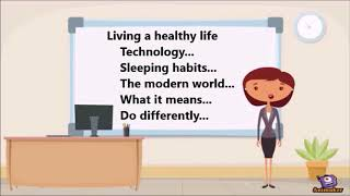 Get ready for your itest - living a healthy life