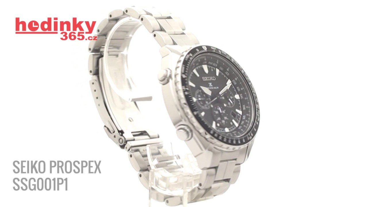 Seiko Prospex SSG001P1 - YouTube 5cbc7e75189