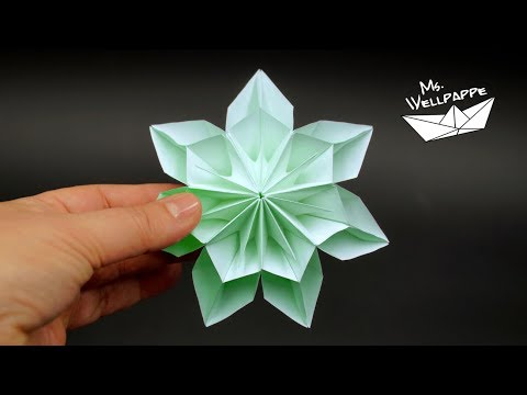 Easy Paper Star for Christmas ⭐ DIY Christmas decorations ...   360x480