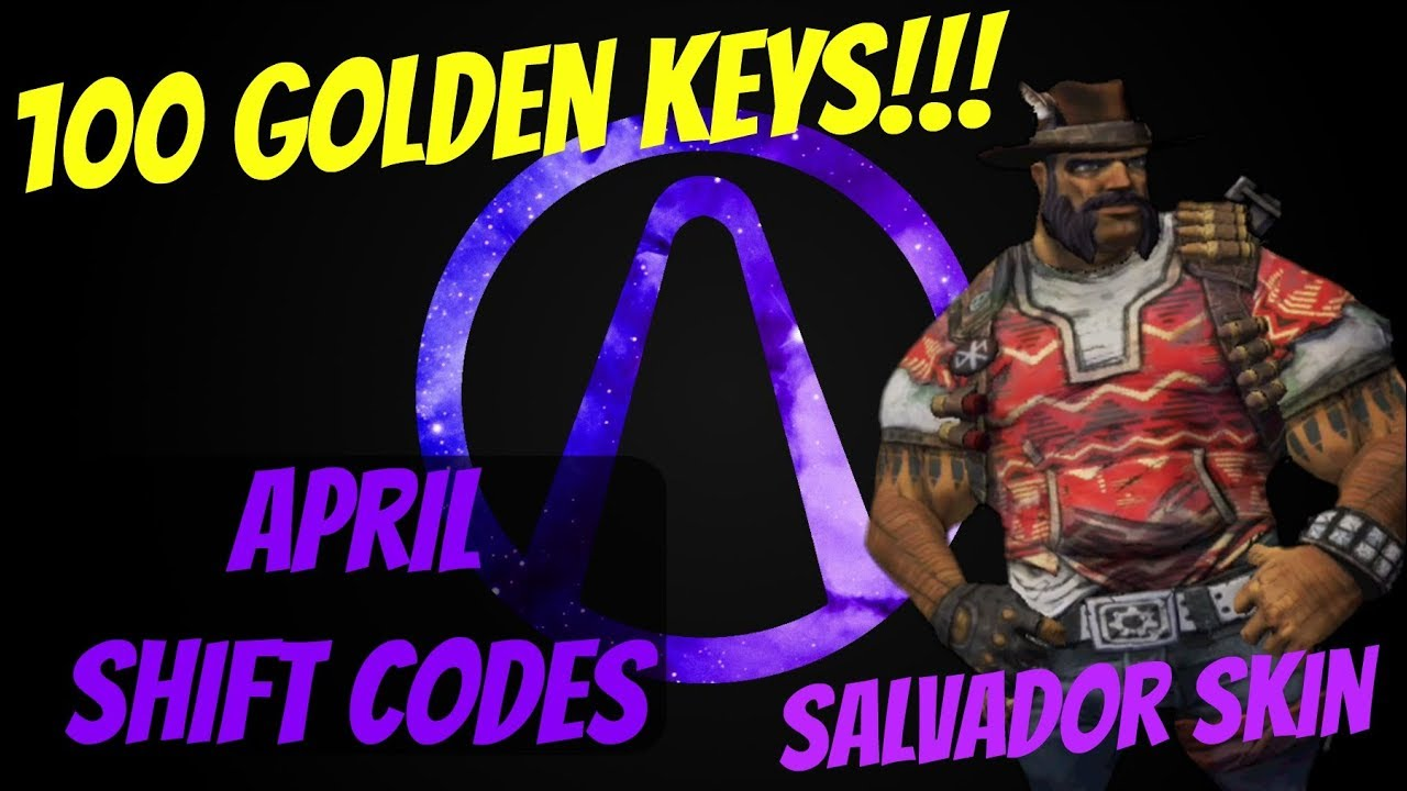 Borderlands 2 | (April) Shift Codes (2019)