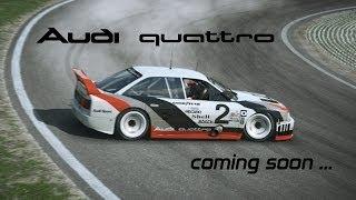 R3E - Audi 90 quattro coming soon