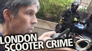 Met police beat the criminals   London scooter crime: The facts