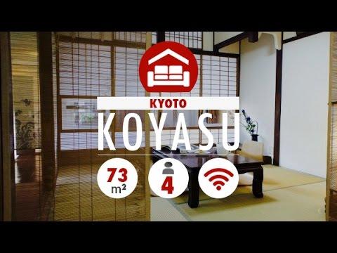 Koyasu House for rent in Kyoto, Japan