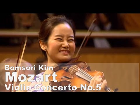 Mozart Violin Concerto No.5 in A major KV.219 - Bomsori Kim 김봄소리