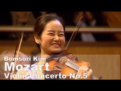 Mozart Violin Concerto No.5 in A major KV.219 - Bomsori Kim 김봄소리