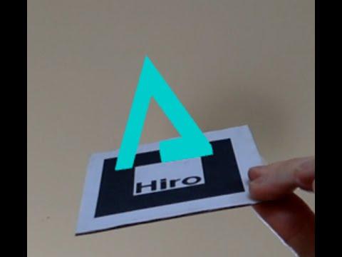Web based augmented reality (AR)