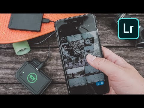 GNARBOX + Lightroom Mobile   ▶︎  POWER edits on your PHONE