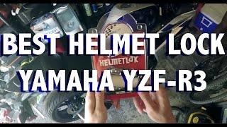 BEST Motorcycle Helmet Lock (Helmetlok) for the Yamaha YZF-R3?