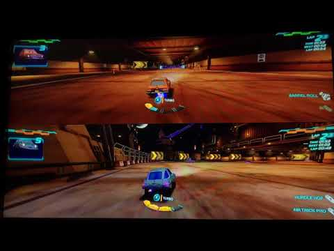 Cars 2 The Video Game | Grem Vs Acer in Pipeline Sprint |