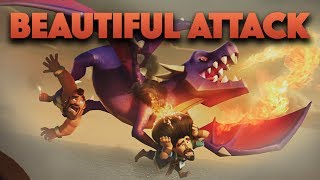 Top Beautiful Attacks In Clash Of Clans | Make Hard Plan In WAR