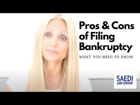 #pros-and-#cons-of-filing-#bankruptcy