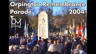 Orpington Royal British Legion Remembrance Parade 2004 13th Bromley Boys Brigade 1st St Mary Cray GB