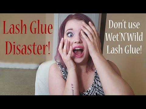 Lash Glue Disaster!!! Don