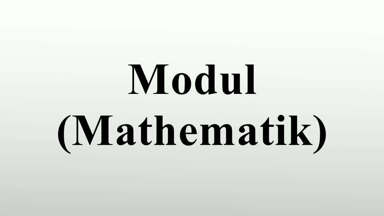 Modul Mathematik