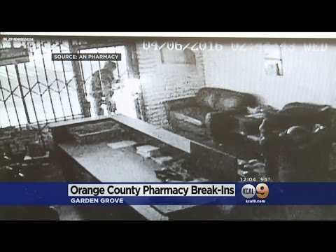 Several OC Pharmacies Hit By Burglars For Drugs, Cough Syrup