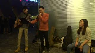 Attention - Charlie Puth (Cover by Karson Ho) @TST Pier Busking 2018.02.19