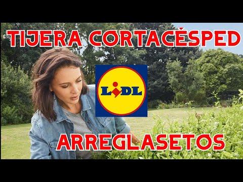 LIDL TIJERA CORTACÉSPED | ARREGLASETOS RECARGABLE