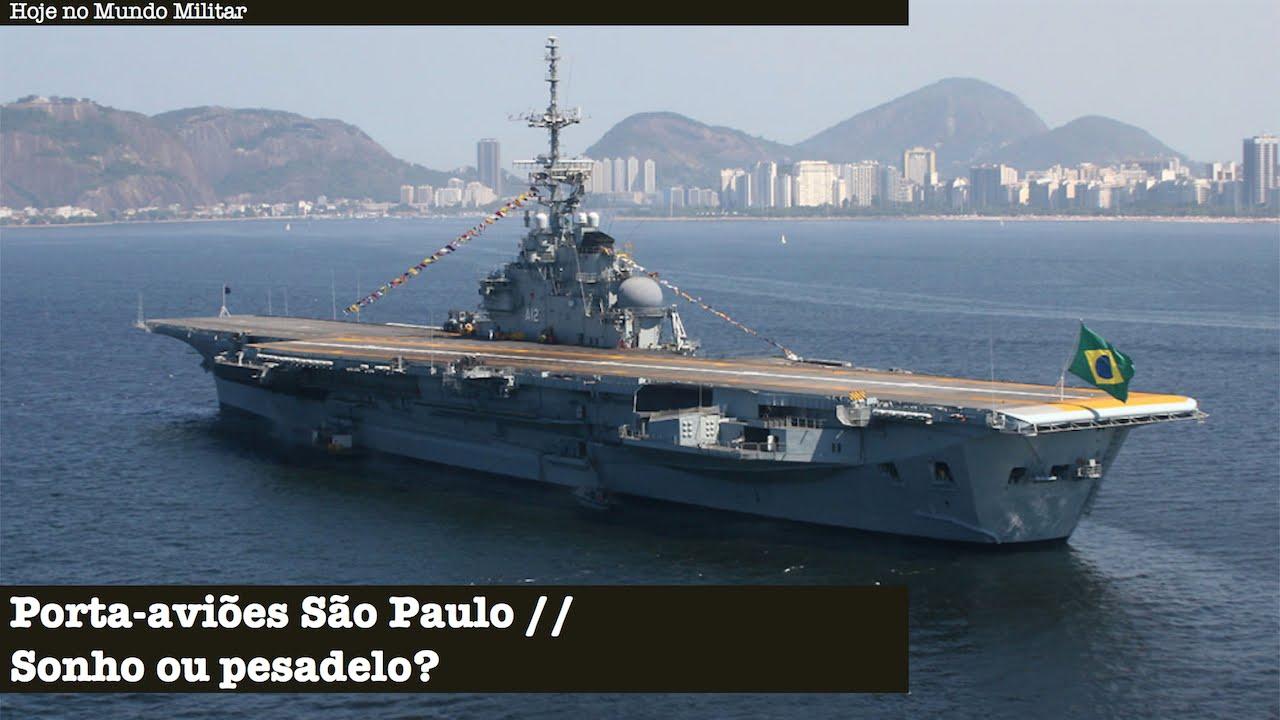 Resultado de imagem para porta aviões São Paulo 56