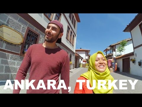 Wander around Ankara, Turkey