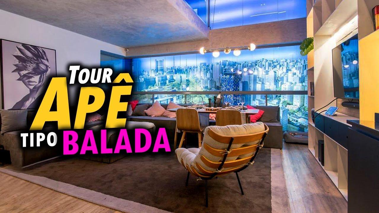 😎 Tour Apê Duplex com banheiro de BALADA \o/ confira as dicas desse tour pelo apê decorado moderno