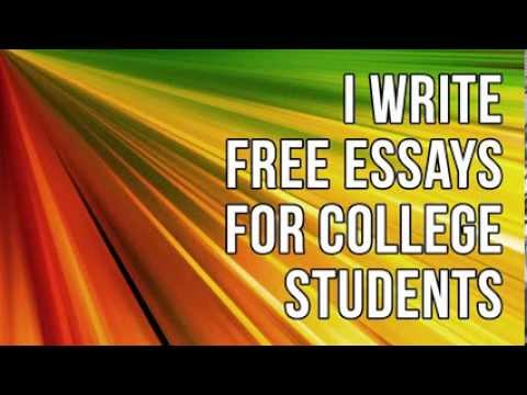 College Essays | Do you need a free College Essay or Term Paper? Look no further!