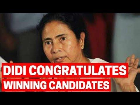 Lok Sabha Elections Result 2019: Mamata Banerjee congratulates winning candidates