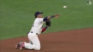 MLB Best Infield Double Plays 2017