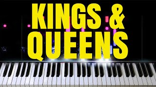 Download Lagu Ava Max - Kings Queens Relaxing Piano Cover MP3