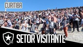 Setor Visitante | Paraná x Botafogo | Brasileirão