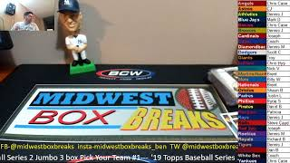 Midwest Box Breaks Topps Baseball Series 2 Release Day Special