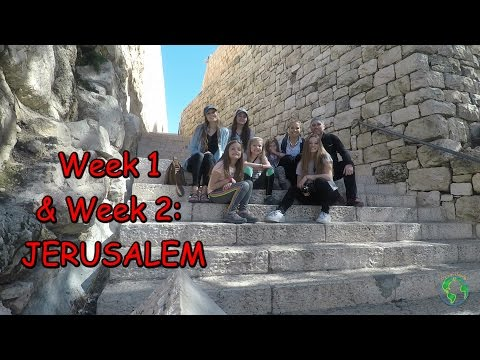 Richey's take on JERUSALEM!! // WEEK 1 & 2 Israel