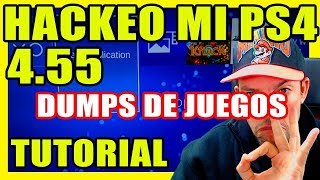 Hackeo MI PS4 4.55 - Dumps de Juegos - Backups - Cómo hacer los PKG PS4 - RetroGamer Tutoriales