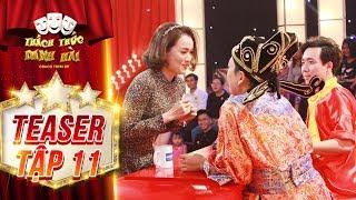 Thách thức danh hài 4 | teaser tập 11: Trấn Thành