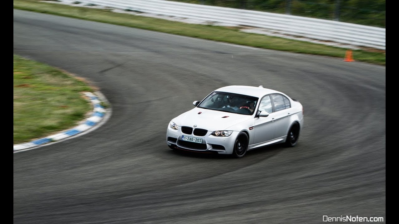 BMW M3 CRT on track  GoPro HD  YouTube