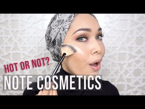 Note Cosmetics Hot or Not | First Impressions & Review