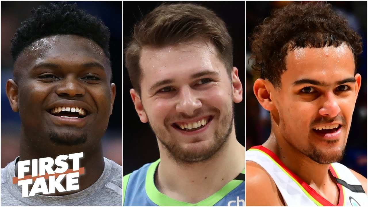 Zion, Luka or Trae: Who will win NBA MVP first? | First Take