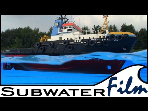 "THE rc offshore Tug ""SMIT HUNTER"" - Subwaterfilm"