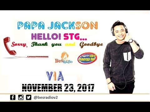MAY GUSTO SYANG IPAGAWA NA HINDI NORMAL SAKIN AS WIFE [VIA] Hello STG with Papa Jackson Nov 23 2017