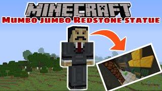 Minecraft: MUMBO JUMBO REDSTONE STATUE!
