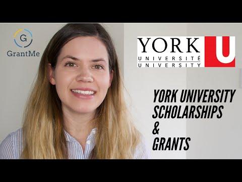York University Canadian Scholarships and Grants