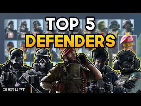 The BEST DEFENDERS in 2020   Rainbow Six Siege  