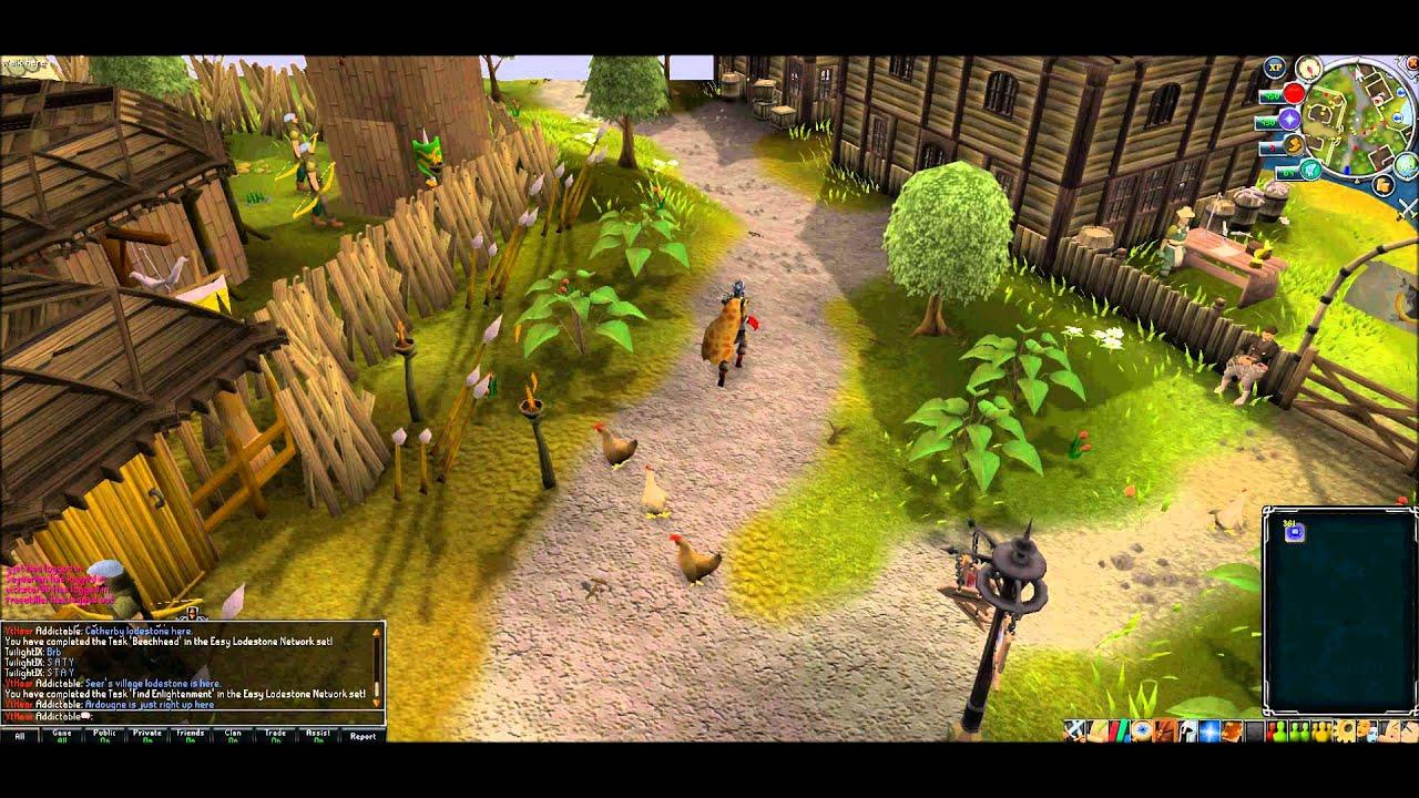 Runescape All Lodestone Locations! [Full HD]