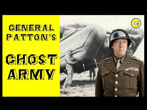 General Patton's Ghost Army - The Secret behind Normandy Landing - Operation QuickSilver  !