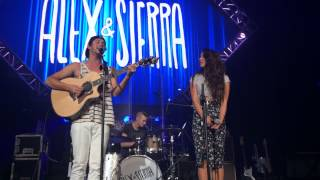 "Alex and Sierra Perfom ""Little Do You Know"" - LIVE AT UCF"