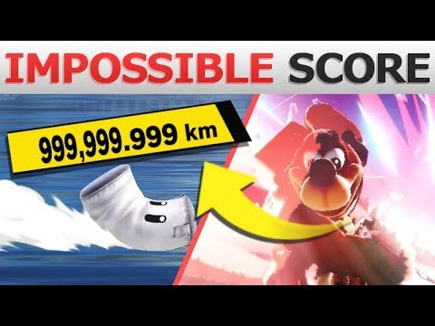 What if you Launch Sandbag Over 999,999km? | Super Smash Bros  Ultimate